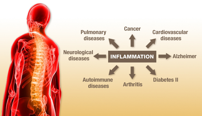 inflammation- toxins in the body