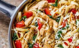 Pesto Pasta with Sun-Dried Tomatoes Recipes