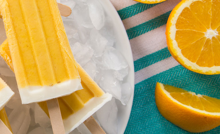Yogurt Pops with Mandarin Oranges Recipes